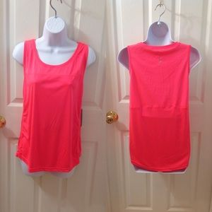 "NWT Exertek ""Coral Flame"" Sports Top"